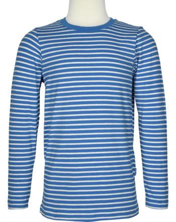 Finkid Shirt Langarm SAMPO Streifen blue/offwhite 1531003-103406