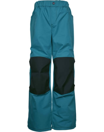 Finkid Trousers with reinforced knees KUUHULLU seaport/graphit 1352021-102412