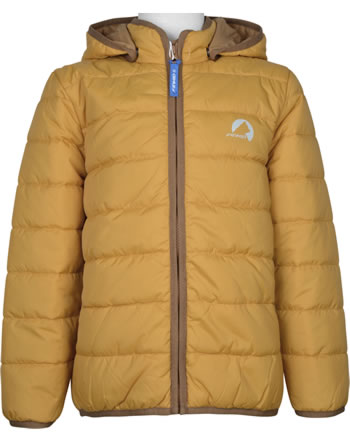 Finkid Quilted Jacket Zip In VANUKAS golden yellow/cinnamon 1122019-609416
