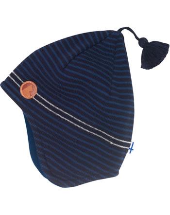 Finkid Strick Zipfelmütze TIPU navy/denim 6031129-100113