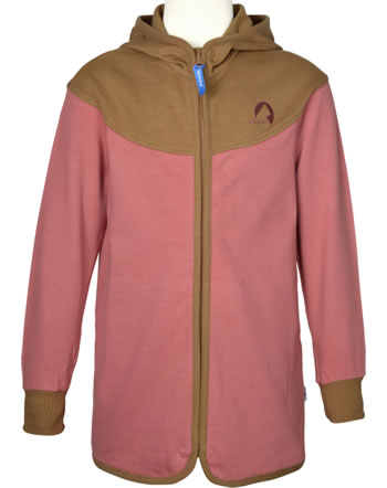 Finkid Sweat-Jacke Zip in JALLO rose/cinnamon 1122022-206416