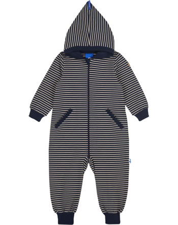 Finkid Sweat Overall Ringel CHILLVI navy/pebble 1232003-100443