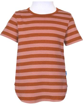Finkid T-Shirt aus Bambusjersey Kurzarm MAALARI chili/peach 1543005-202219