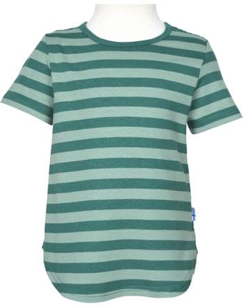 Finkid T-Shirt aus Bambusjersey Kurzarm MAALARI deep teal/trellis 1543005-330158