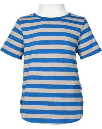 Finkid T-Shirt aus Bambusjersey Kurzarm MAALARI nautic/pebble 1543005-119443