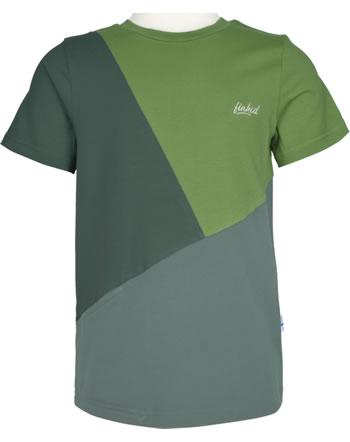 Finkid T-Shirt Kurzarm ANKKURI LSF 50+ bronze green/trellis 1542009-333158
