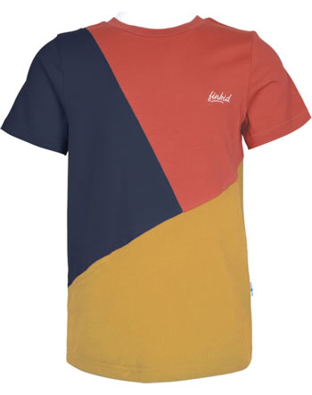 Finkid T-Shirt Kurzarm ANKKURI LSF 50+ chili/golden yellow 1542009-202609