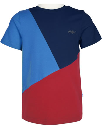 Finkid T-shirt à manches courtes ANKKURI navy/red 1542004-100200