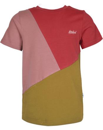 Finkid T-Shirt Kurzarm ANKKURI red/harvest gold 1542004-200603
