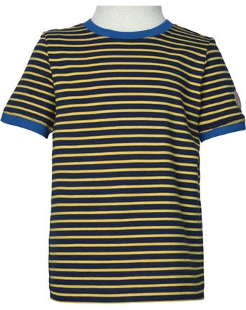 Finkid T-Shirt Kurzarm RENKAAT LSF 50+ navy/golden yellow 1542008-100609