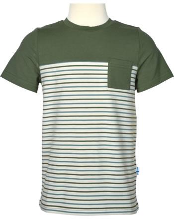 Finkid T-Shirt Kurzarm SURFFARI bronze green/charcoal 1542010-333701