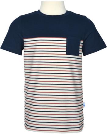 Finkid T-Shirt Kurzarm SURFFARI navy/chili 1542010-100202