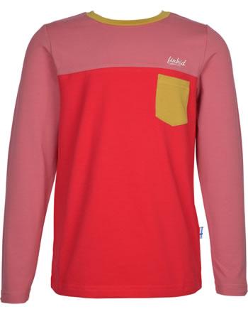 Finkid T-Shirt Langarm PUOMI rose/red 1532006-206200