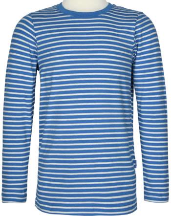 Finkid T-Shirt Langarm SAMPO Streifen blue/offwhite 1531002-103406