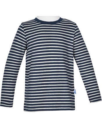 Finkid T-shirt à manches longues SAMPO navy/offwhite 1531002-100406