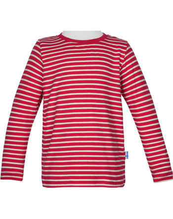 Finkid T-shirt à manches longues SAMPO red/offwhite 1531002-200406