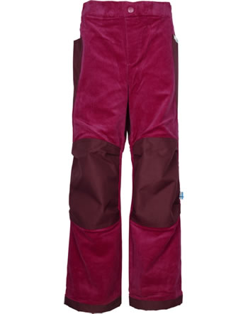 Finkid Reinforced Corduroy Pants KUU persian red 1352011-247000