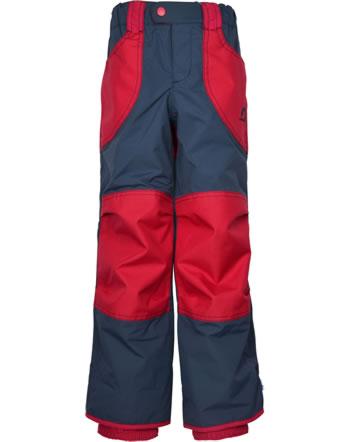 Finkid Verstärkte Outdoorhose TOBI navy/red 1322001-100200