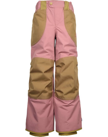 Finkid reinforced Outdoor Pants TOBI rose/cinnamon 1322008-206416
