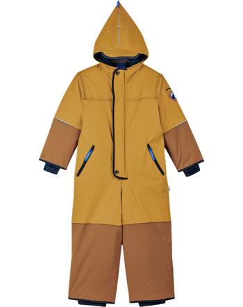Finkid Verstärkter Winter-Overall HUSKY HAALARI gold. yellow/navy 1213003-609100