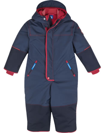 Finkid Verstärkter Winter-Overall HUSKY HAALARI navy/red 1212002-100200