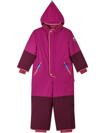 Finkid Reinforced Winter Overall HUSKY HAALARI pers. red/chilli 1213003-247202