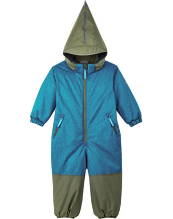 Finkid Winter-Overall TURVA ICE seaport/ivy green 1212005-102332