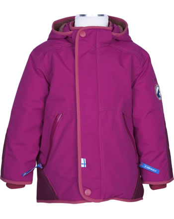 Finkid Winterparka TALVINEN HUSKY persian red/chilli 1142007-609100