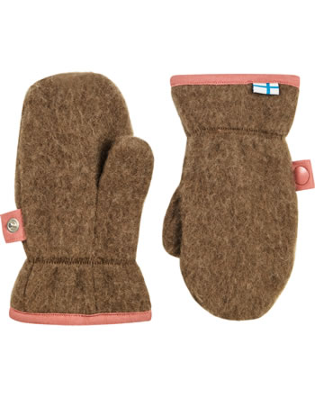 Finkid Wool Mitten NUPUJUSSI WOOL cocoa 1632021-507000