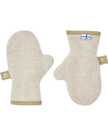 Finkid Woll Handschuhe Fäustlinge NUPUJUSSI WOOL pebble/cin. 1632007-443416