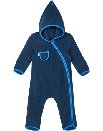 Finkid Wollfleece Overall PUKU WOOL navy/nautic 1232004-443416