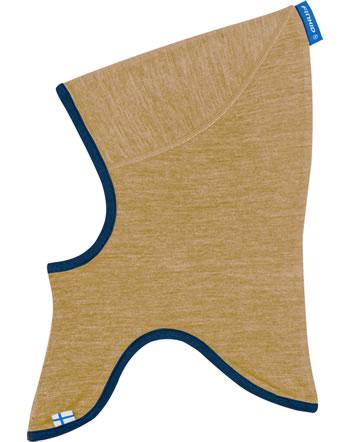 Finkid Doubleface Wooljersey Balaclava LUOLA cinnamon/pebble 1612043-416443