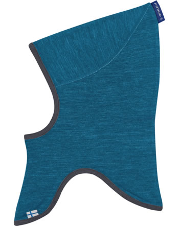 Finkid Doubleface Wooljersey Balaclava LUOLA seaport/smoke blue 1612043-102152