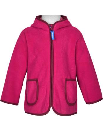 Finkid Zip-in Innenjacke Fleece TONTTU persian red/cabernet 1122004-247249