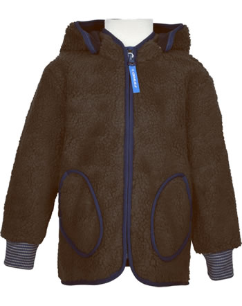 Finkid Zip In Innenjacke Teddyfleece TONTTU NALLE cocoa/navy 1122026-507100