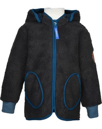 Finkid Zip In Innenjacke Teddyfleece TONTTU NALLE graphit/seaport 1122018-412102