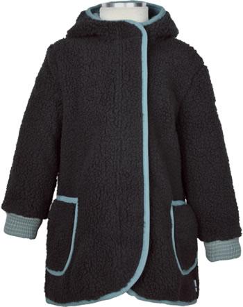 Finkid Zip In Jacke Teddyfleece LIKKA NALLE graphit/smoke blue 1122030-412152