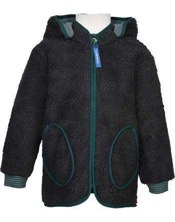 Finkid Zip In Jacke Teddyfleece TONTTU NALLE graphit/deep teal 1122026-412330