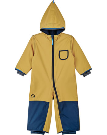 Finkid Zwergen Winter-Overall PIKKU WINTER golden yellow/navy 1212003-609100