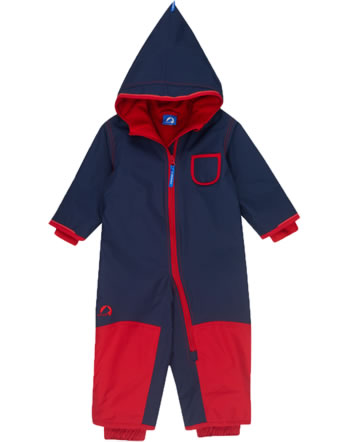 Finkid Zwergen Winter-Overall PIKKU WINTER navy/red 1212001-100200