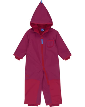 Finkid Zwergen Winter-Overall PIKKU WINTER persian red/grenadine 3070049-247244