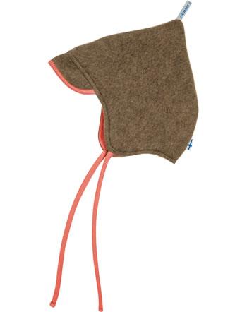 Finkid Zwergenmütze Zipfelmütze Wolle POPI WOOL cocoa 1612042-507000