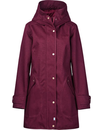 Finside Damen Outdoor Parka Zip-In OIVI cabernet 4115004-249000