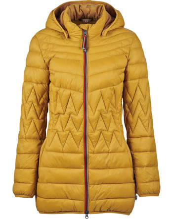 Finside Damen Steppmantel Zip-In Innenjacke LAHTI harvest gold 4125002-603000