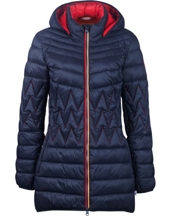 Finside Damen Steppmantel Zip-In Innenjacke LAHTI navy 4125002-100000