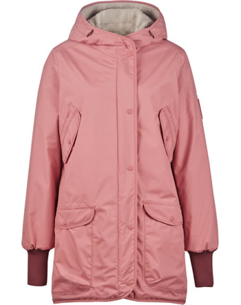 Finside Damen Wende-Winterparka SUOMUKKA rose/pebble 4143002-206445