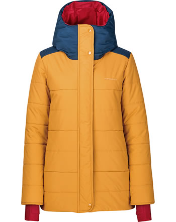 Finside Damen Winteranorak REKI HUSKY golden yellow/navy 4143005-609100
