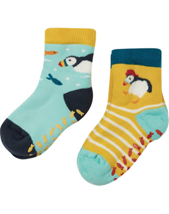 Frugi Chaussettes 2 pièces NATIONAL TRUST puffin SOS118PFN