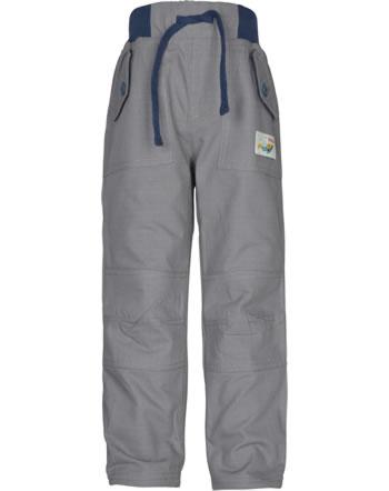 Frugi Pantalon ADVENTURE ROLL UPS slate grey TRA951SLE
