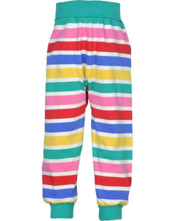 Frugi Pants Rib PARSNIP rainbow multi stripe PUS106RMP